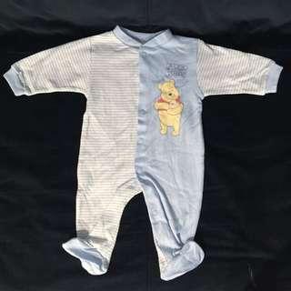 德國品牌 C&A 嬰兒/幼兒 連身衣/包腳衣(另外贈送小襪子)
