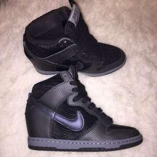 Nike Wedge Sneakers Size US6.5/UK4