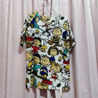 Snoopy長版T
