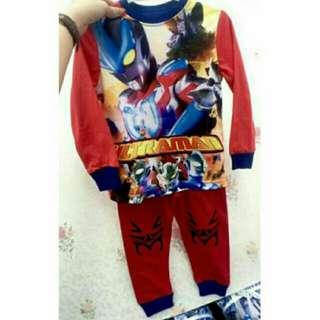 Clearance (Nett Price) Ultraman Red Sleepwear