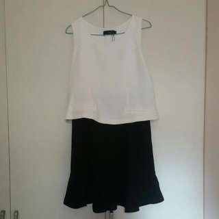 OAMC Black And White Dress