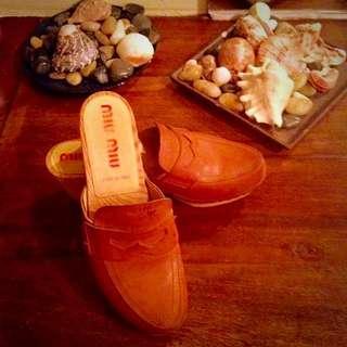 Miu Miu Clogs Size 9