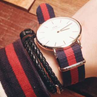 DW 錶 WATCH BAND CLASSIC OXFORD 錶帶