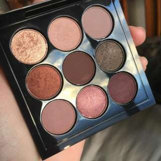 MAC Eyeshadow Palette Burgundy X9