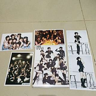 SNSD Girls Generation Mr Taxi Album