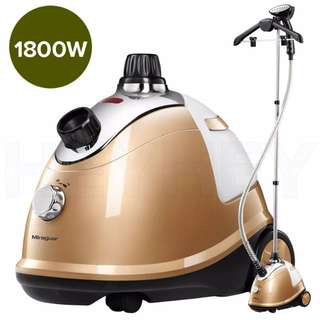 SOGA Professional Commercial Garment Steamer Portable Cleaner Steam Iron Gold Red and Gold colours are available