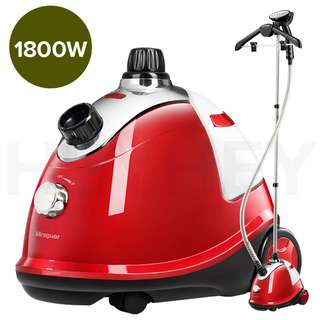 SOGA Professional Commercial Garment Steamer Portable Cleaner Steam Iron Red Red and Gold colours are available