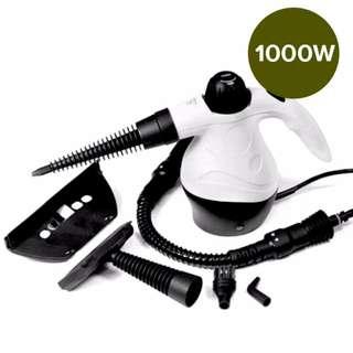 Handheld Steam Cleaner 1000w Portable Handheld Handy Steam Cleaner Floor Carpet Steamer Washer Pressure, 1 Year Warranty