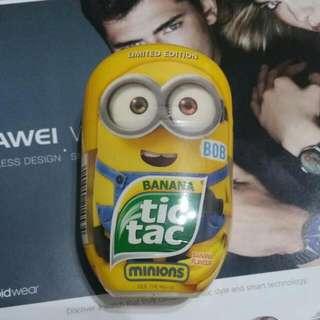 Minions Tic Tac Banana Flavour