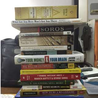Finance, Real Estate, Corporate, Investing Books to Supercharge your Knowledge! (Free Delivery For $30 Above)