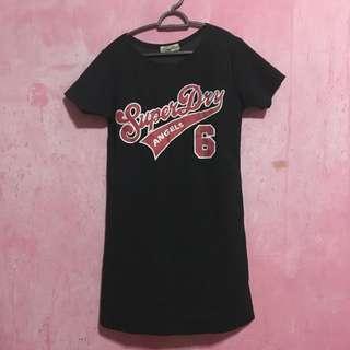 SuperDry Black Short Dress
