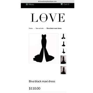 Love Story Boutique Dress