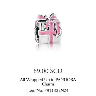 PANDORA All Wrapped Up In Pandora Charm