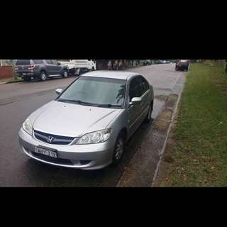 Honda Civic gli 2004 model automatic. $5700 negotiable.