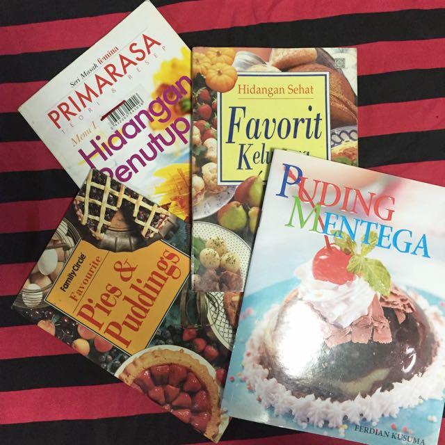 4 Buku Resep Aneka Dessert
