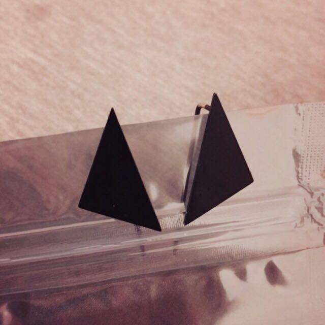 三角耳環/耳針