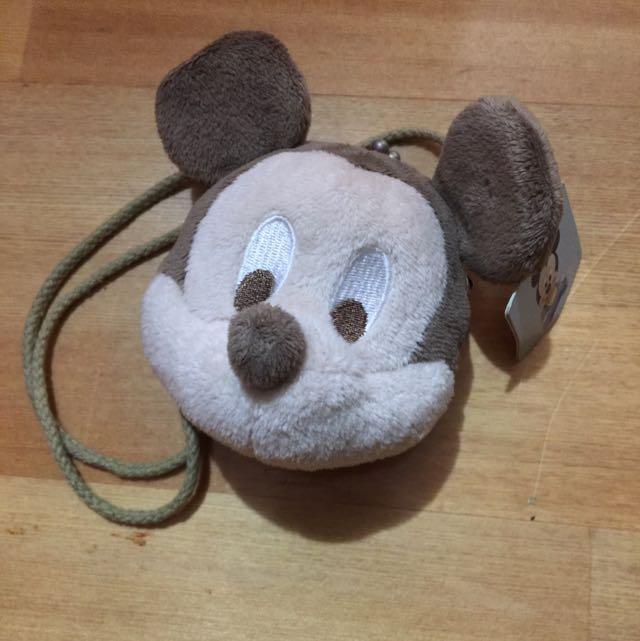 迪士尼-米奇側背小包包