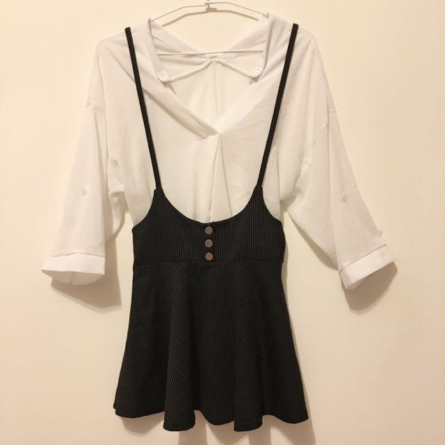 背帶吊帶短裙