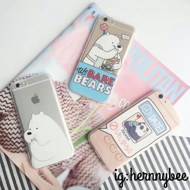 白熊卡通 iphone case6/6s