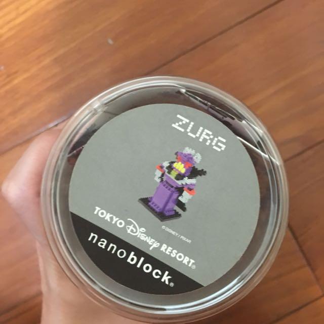 玩具總動員魔王 ZURG樂高 正版日本迪士尼購入