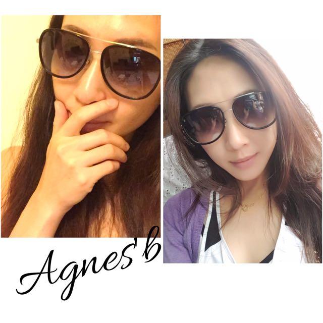 百貨專櫃購Agnes'b 小b雷朋款復古太陽眼鏡 AB-1795 Agnesb