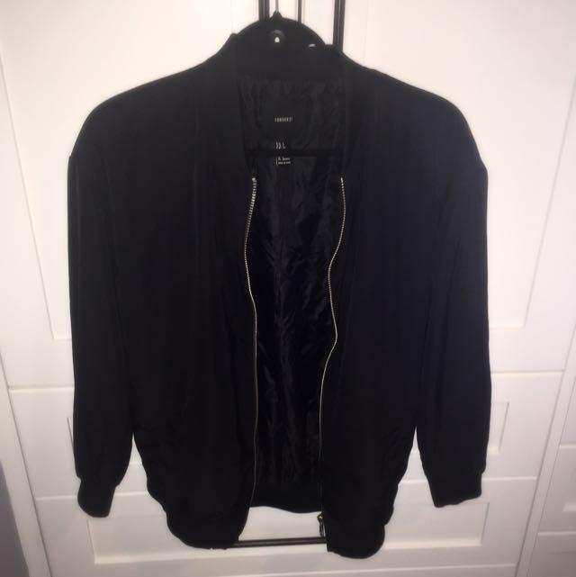 Black Bomber Jacket (S)