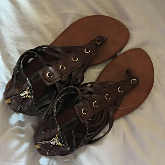 Brown Steve Madden Sandals