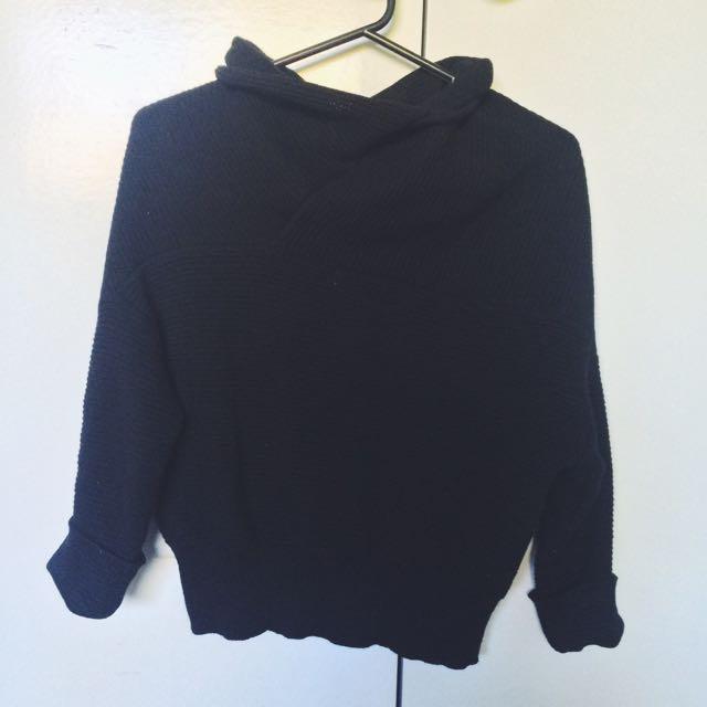 Cowl Neck Knit
