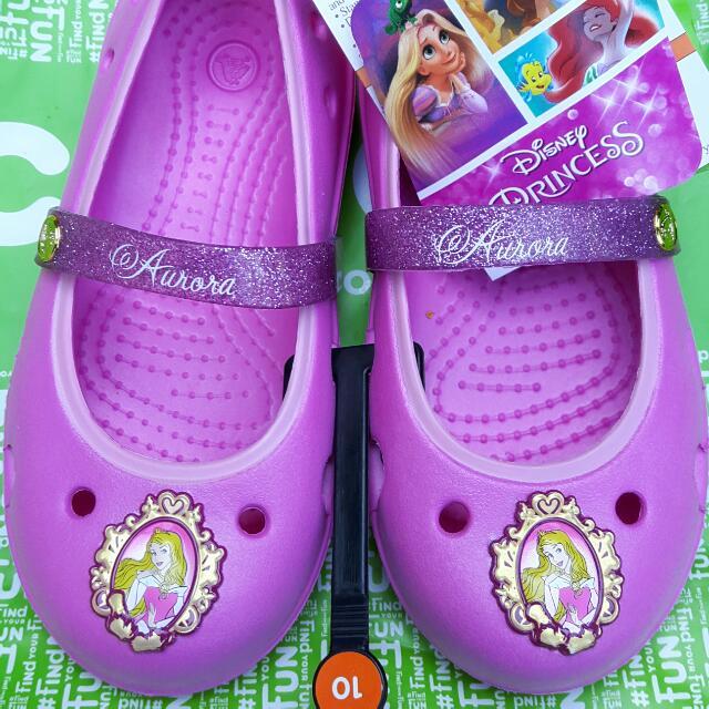 edff8402974f75 Crocs Keeley DISNEY PRINCESS Flat K (Party Pink)