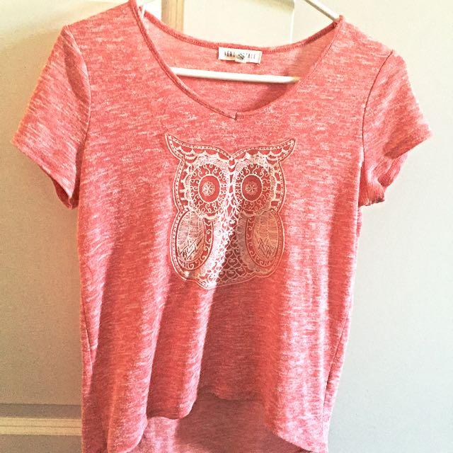 Cute Aeropostale Owl T-shirt