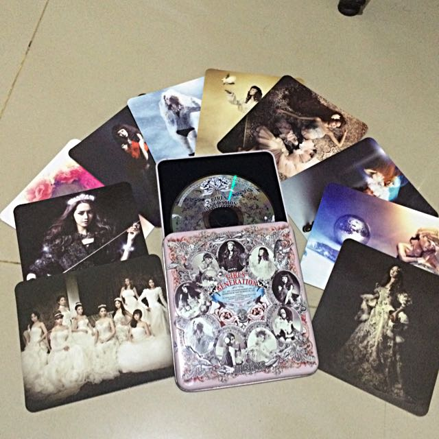 SNSD Girls Generation The Boys Album