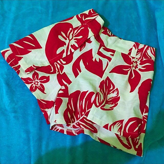 Floral Skort (Skirt   Short)