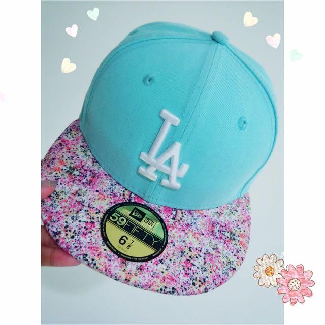 LA⚾️棒球帽 🌼小碎花tiffany綠