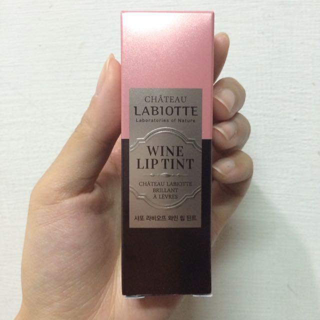 全新!LABIOTTE 葡萄酒醇果染色唇露#PK01白金粉黛 奶酪陷阱 金高恩代言
