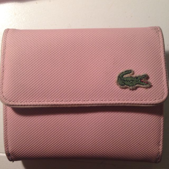 Lacoste Pink Wallet