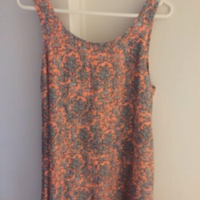 Loose Patterned Dress