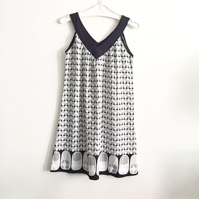 3for100k / Monochrome Dress