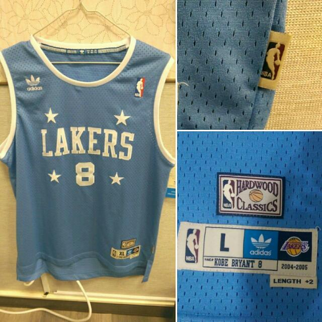 【NBA球衣】Kobe四星水藍