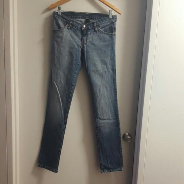 Nobody size 10 denim jeans