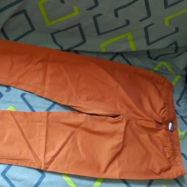 Pieces ORANGE long Pants
