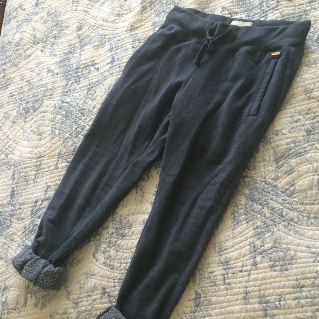 Roots 3/4 Length Fleece Sweatpants