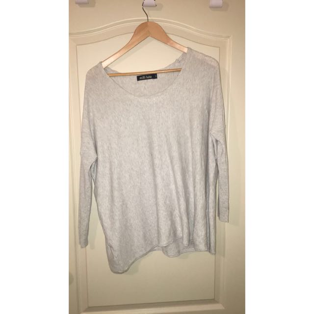 Slouchy Cream Jumper