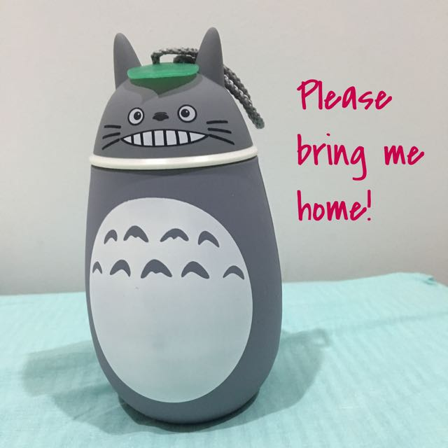 Smiley Totoro Water Bottle (Thermos flask)