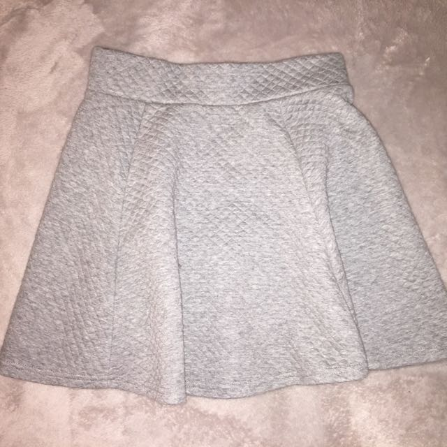Structured Flare skirt