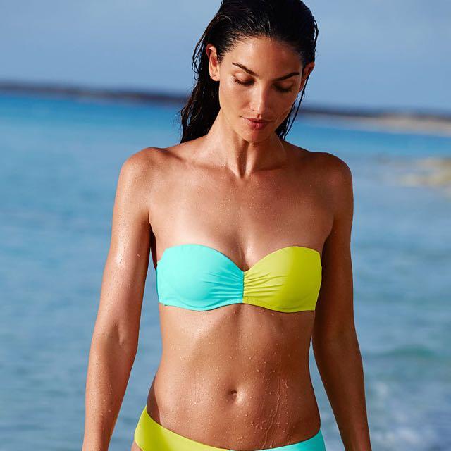 Victoria's Secret Bikini Set - Bandeau And Bottom