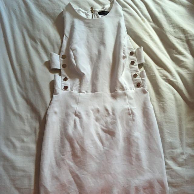 White Dynamite Dress