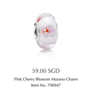 PANDORA Pink Cherry Blossom