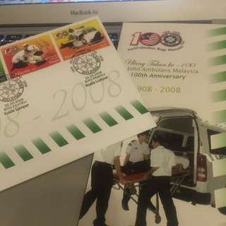 First Day Cover Stamp