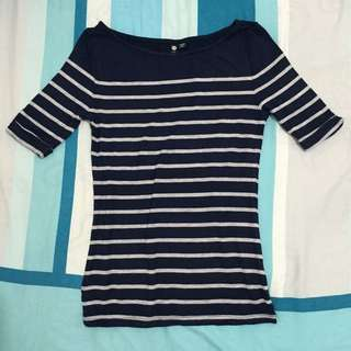 **Reserved** Cotton On Boat Neck Top