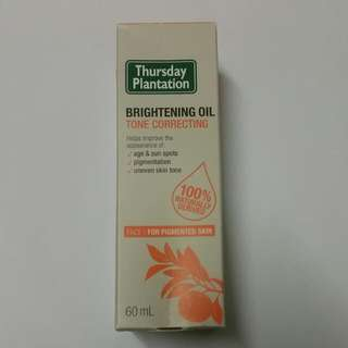 Thursday Plantation Brightening Oil